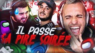 IL PASSE SA PIRE SOIRÉE ! 😂 (Among Us)
