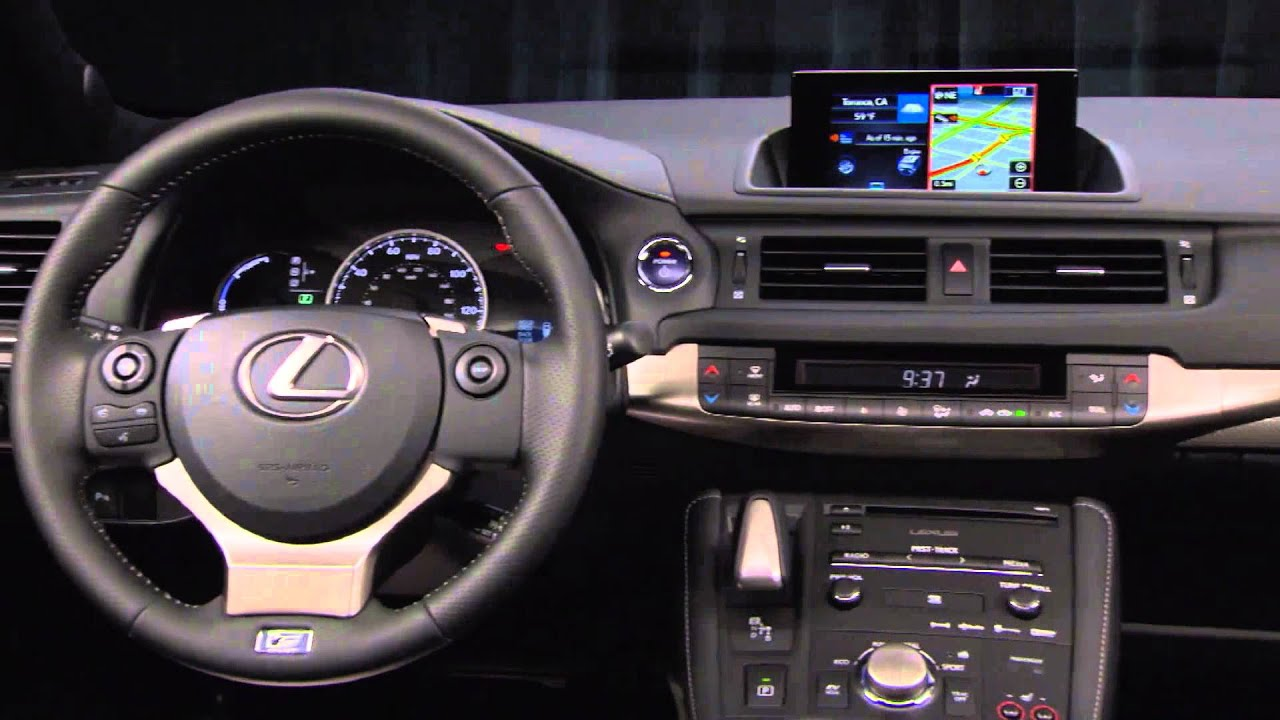 2016 Lexus CT 200h F SPORT Design Trailer | AutoMotoTV   YouTube