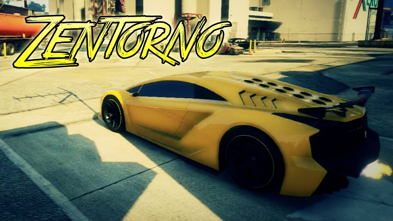 "GTA 5: Zentorno ""Lamborghini"" Full Tuning Customization ..."