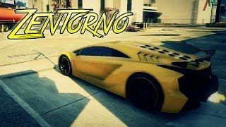 """GTA 5: Zentorno """"Lamborghini"""" Full Tuning Customization"""
