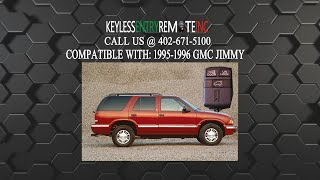 How To Replace GMC Jimmy Key Fob Battery 1995 1996