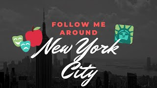 Follow me around NYC | Central Park - Taste of Times Square - M&M'S World Store