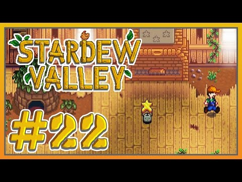 Stardew Valley - #22 - Baby Chicken and Our First Star!