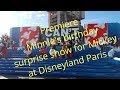 Minnie's birthday surprise show for Mickey at Walt disney studios at Disneyland Paris