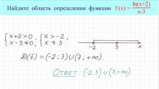 Область определения функции #4