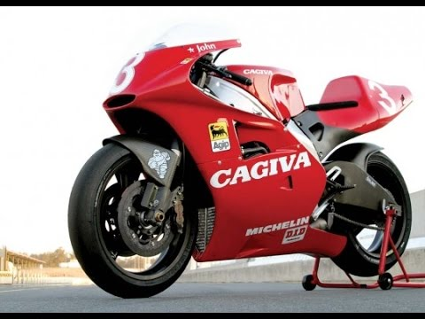 Cagiva V593 500cc - YouTube
