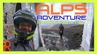Le Parpaillon, la Moutiére / Bonette à moto - Les Alpes par les pistes - Raid2roues