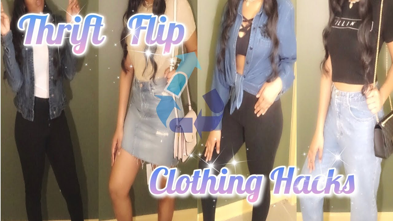 [VIDEO] - Thrift Flip | (UNDER $20) Upcycling Old Clothes 1