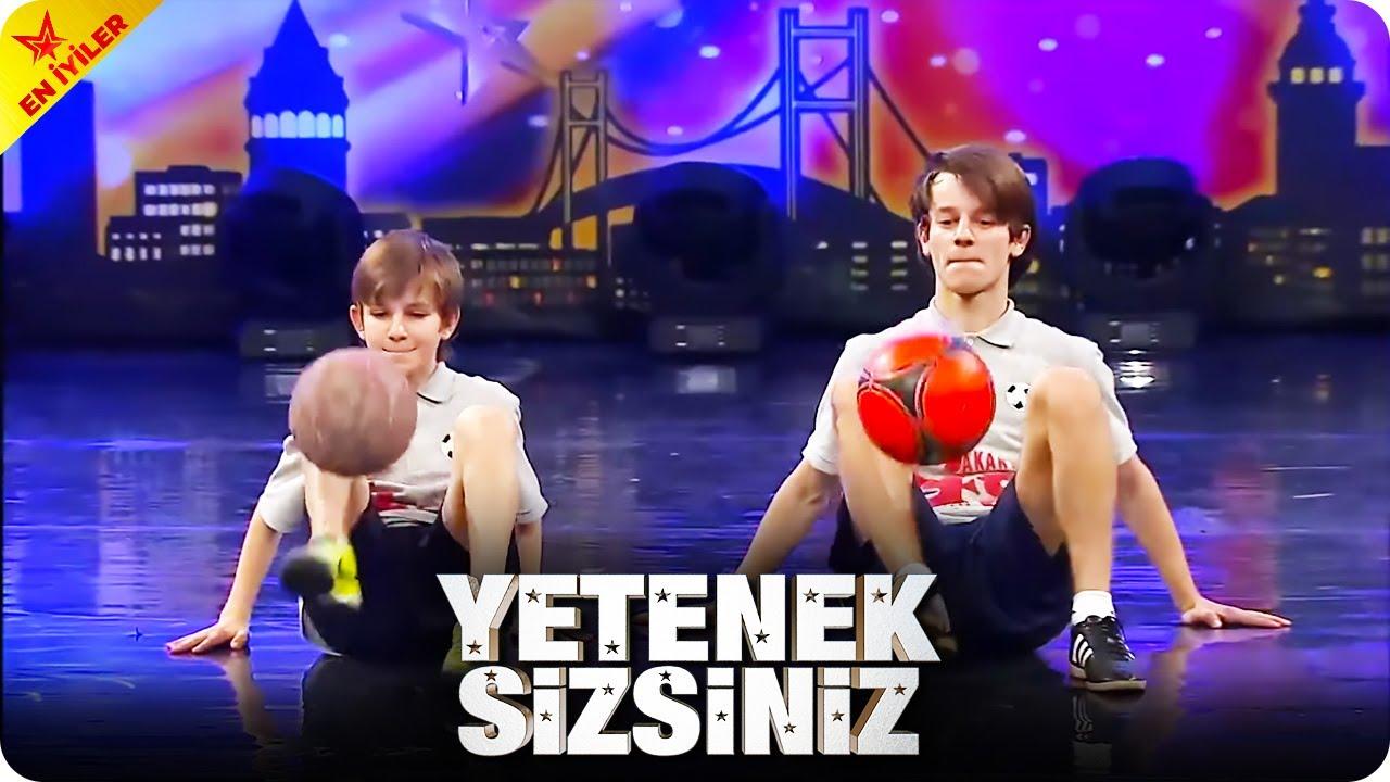 Futbolun Çavuşları Futbol Şov - Yetenek Sizsiniz Türkiye Efsaneleri