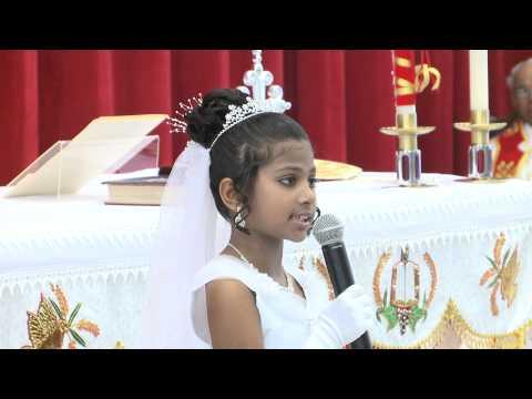 First Holy Communion Speech