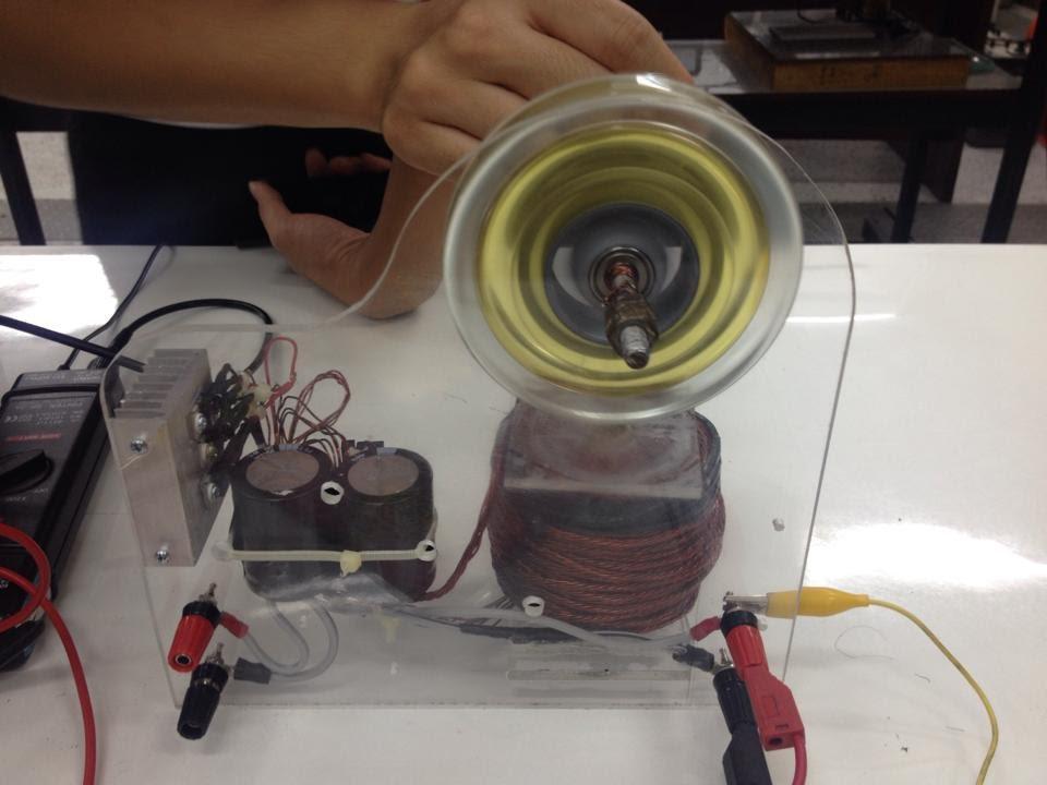 Bedini Motor Generator Test - Somsak Elect - YouTube