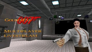 GoldenEye 007 N64 - Multiplayer Splitscreen Livestream