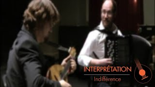 Indifférence by Duo V.Beer-Demander & G.Daltin