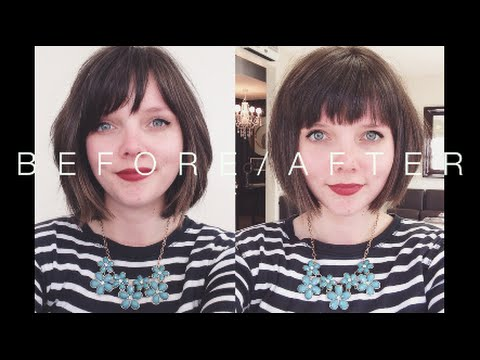 Hair Cut  Time for a change Karlie Kloss inspired  Chronic Illness Diaries 5