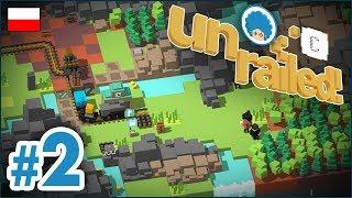 Unrailed! PL ze Staszkiem  odc.2 (#2)  Pociągujące chłopaki | Gameplay po polsku