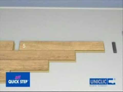 Parquet tarima flotante instalaci n quick step youtube - Precio colocacion tarima ...