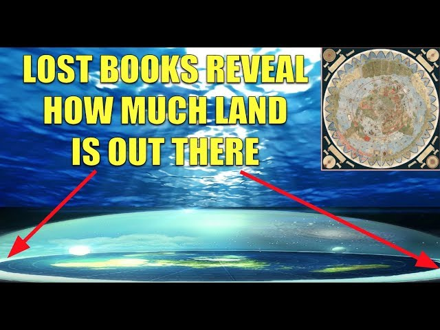 LARGE BODIES OF HIDDEN LAND MENTIONED IN LOST BOOKS
