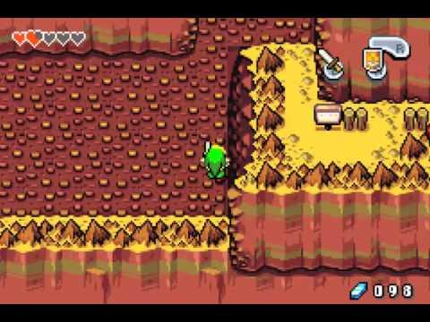 [The Legend Of Zelda - The Minish Cap] Episode 5 - Attention : Chute de pierre !