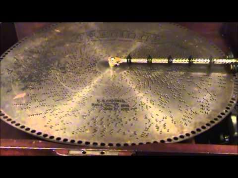 1910 Regina Music Box Style 26 (20 3/4 inch Disc) Playing Strauss