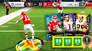 WORLD RECORD! FIRST 99 OVERALL TEAM IN MADDEN 20! GAME OF THE YEAR!