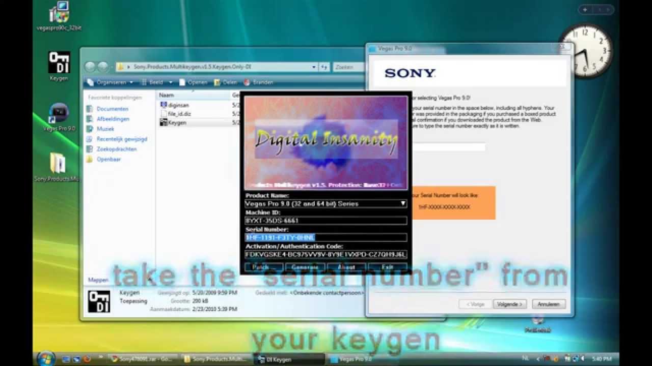 Sony vegas 8
