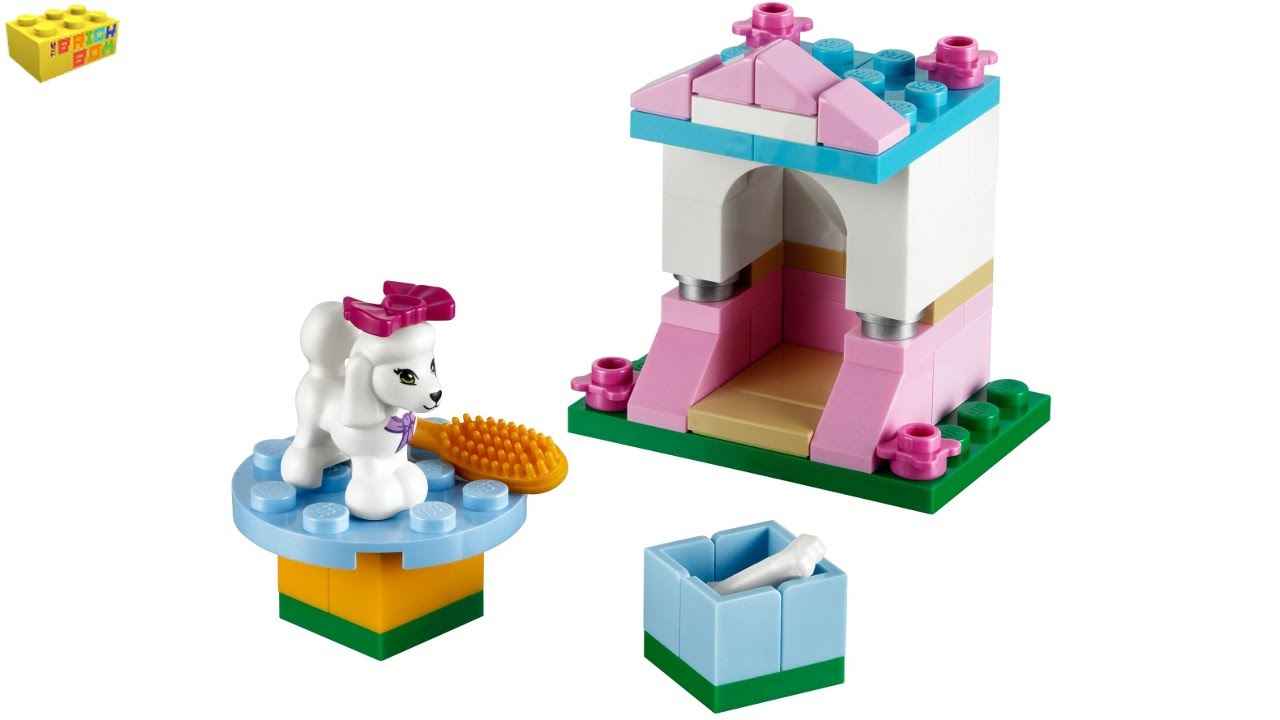 Great LEGO Friends Poodleu0027s Little Palace 41021 Series 2 Review   YouTube
