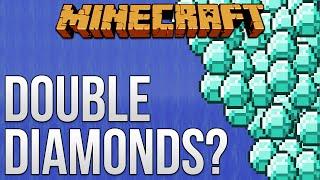 A Way To Double Diamonds? [Minecraft Myth Busting 79]