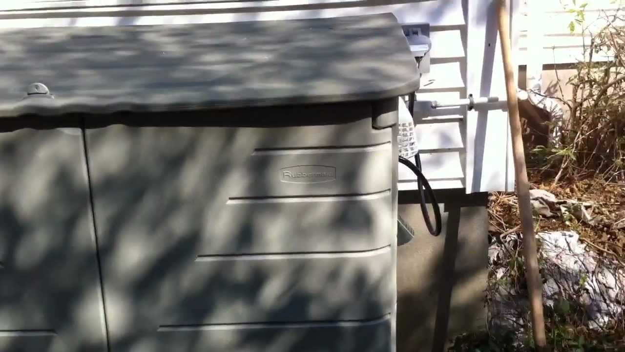 Home Built Enclosure For Portable Generator