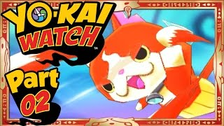 Yo-Kai Watch - Part 2 | Enter Jibanyan! [English Gameplay Walkthrough]