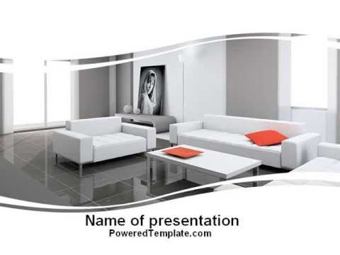 Interior design of living room powerpoint template by interior design of living room powerpoint template by poweredtemplate toneelgroepblik Image collections