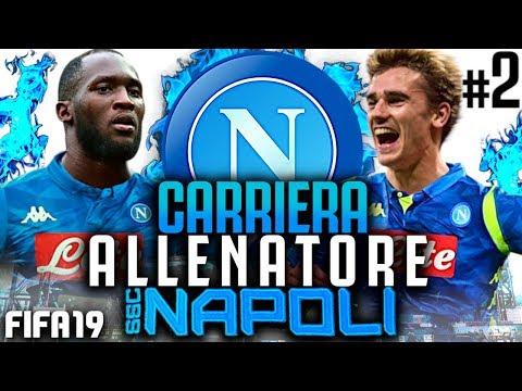 E' ARRIVATO IL BOMBER!!! FIFA 19 CARRIERA ALLENATORE NAPOLI #2