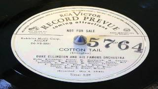 Cotton Tail - Duke Ellington And His Famous Orchestra (RCA Victor Promo)