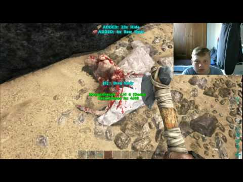 """Lewis plays Ark Survival evolved lets play on PC """"Metal yes"""" #3"""
