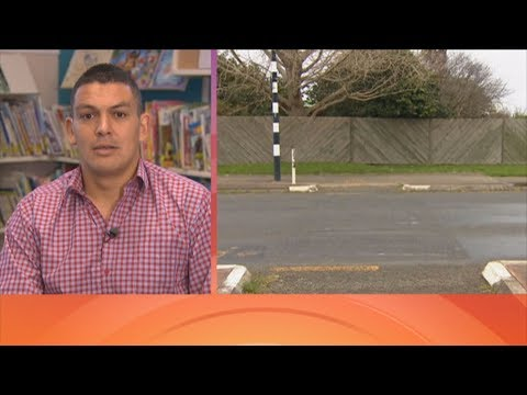 Mysterious Zebra Pedestrian Crossing Painted Outside South Auckland School