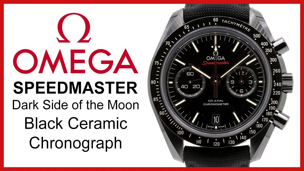 omega speedmaster moonwatch dark side of the moon review