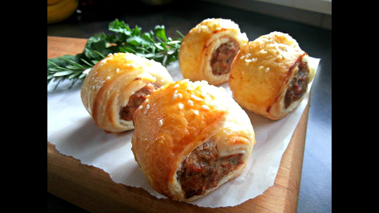 How To Make Healthy Sausage Rolls Youtube