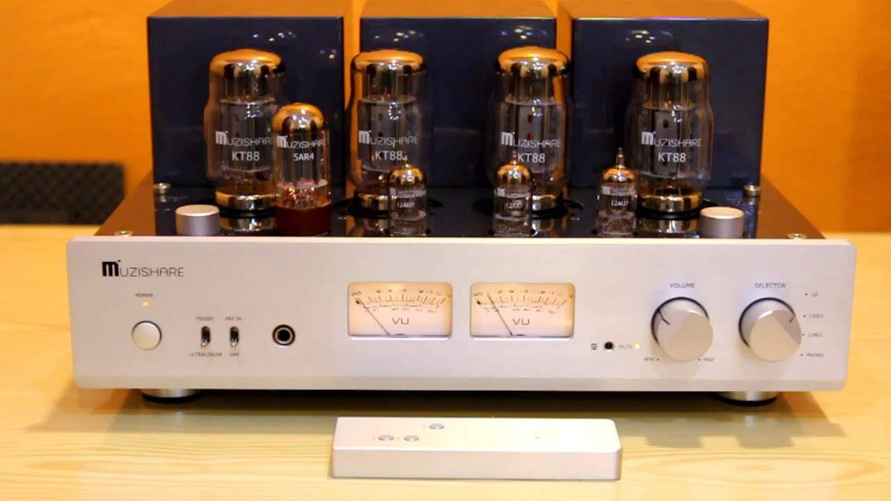Muzishare X7 Kt88 Push Pull Ultralinear 45w Stereo By
