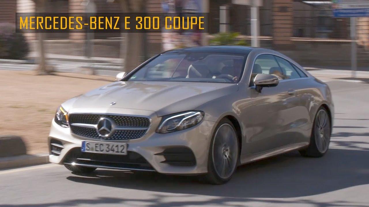 2017 Mercedes Benz E300 Coupe