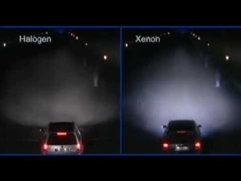 Xenon Vs Halogen Youtube