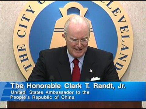 Clark T. Randt Speech Pt. 1