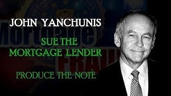 Sue the Mortgage Lender (John Yanchunis)