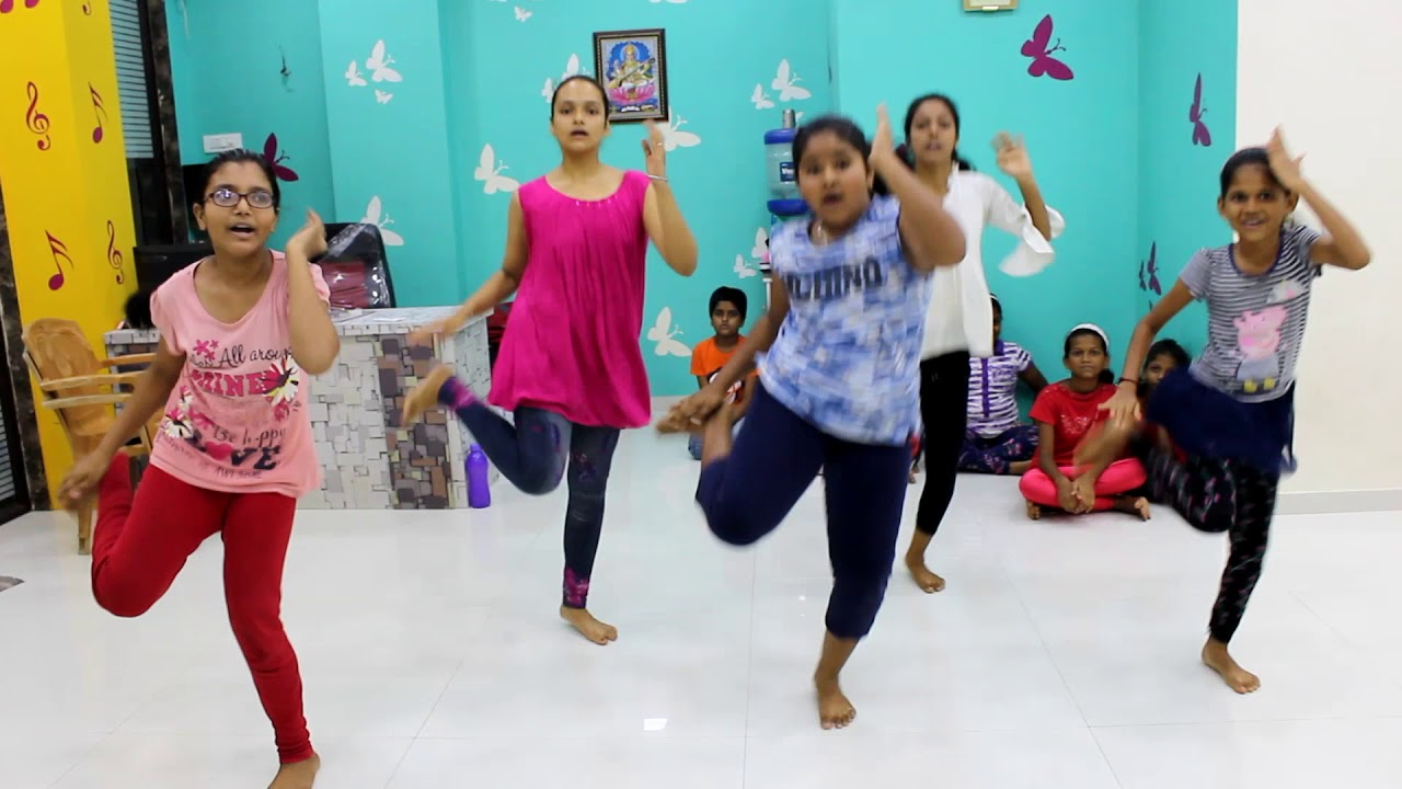 1234 Get On The Dance Floor Dance Shivakruti Youtube