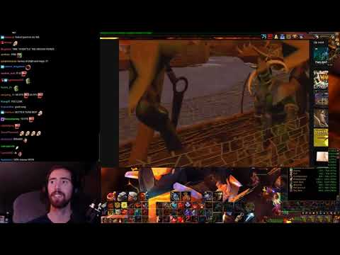 "Asmongold Reacts to ""Warcraft II: Tides of Darkness - Intro Cinematic"""