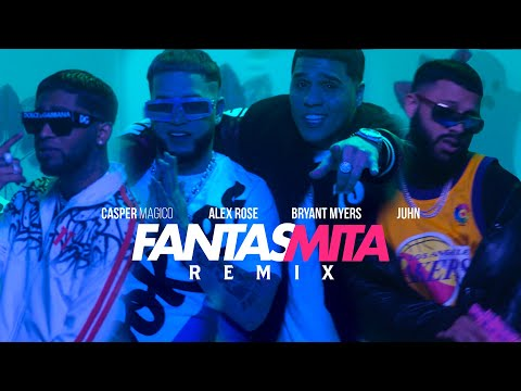 Casper Magico – Fantasmita Remix (Letra) ft. Bryant Myers, Alex Rose & Juhn