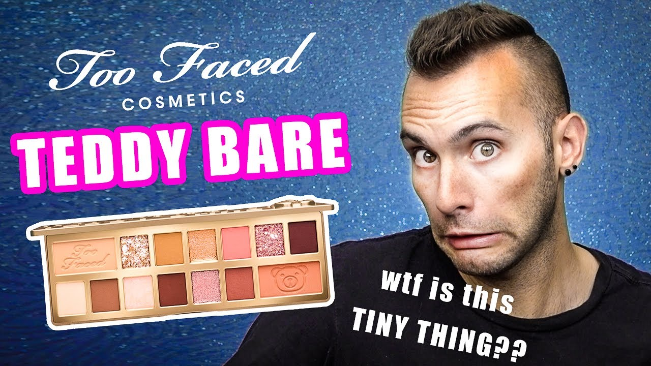 SH*T I FORGOT TO REVIEW: Too Faced Teddy Bare Palette | WTF IS THIS?!
