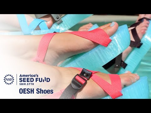 3D-printed shoes promote long-term health and wellness – OESH Shoes
