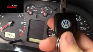 VW Golf 4 Service jetzt löschen - VW Golf 4 Service INSP reset - Service Reset Golf 4
