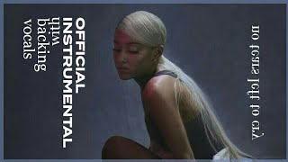 Ariana Grande - No Tears Left To Cry (Official Instrumental with Backing Vocals)