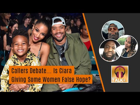 "Callers debate... is Ciara giving women false hope | Lapeef ""Let's Talk"""