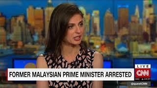 Former. Malaysian PM Najib Razak arrested